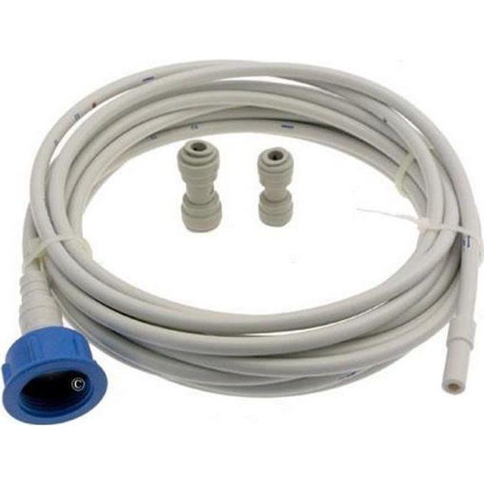 Kit arrivee d'eau : tuyau (6m) + raccords UKT001 (125878-19067) - Réfrigérateur, congélateur - WPRO (12443)