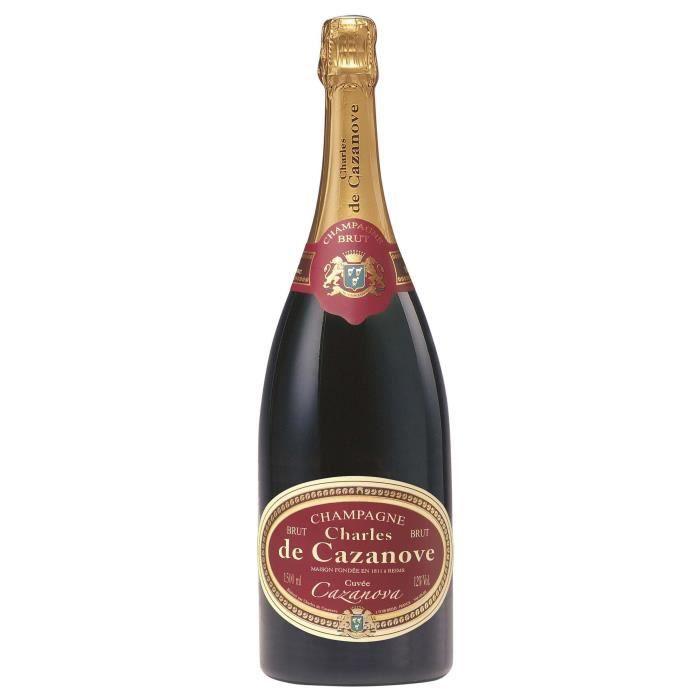 Champagne Charles de Cazanove Cuvée spéciale Cazanova Brut - Magnum 1,5L