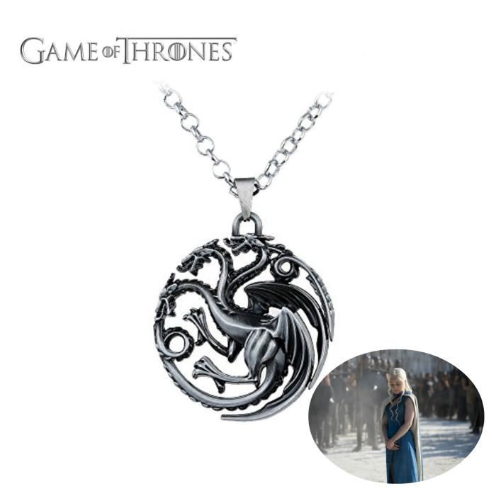 game of thrones femme rouge sans collier