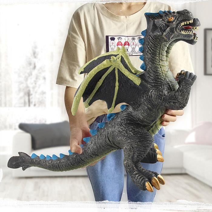 Dinosaure En Plastique Modèle Grande Taille Son Anniversaire Sonore Enfants Cadeau Enfants Jouet ...
