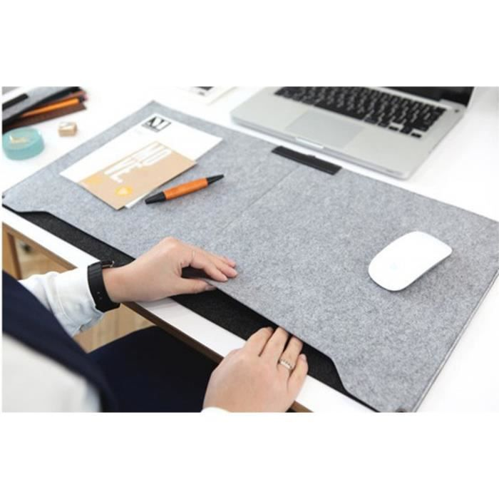 feutre pochette pour ordinateur portable tapis de bureau durable moderne table felt bureau tapis. Black Bedroom Furniture Sets. Home Design Ideas