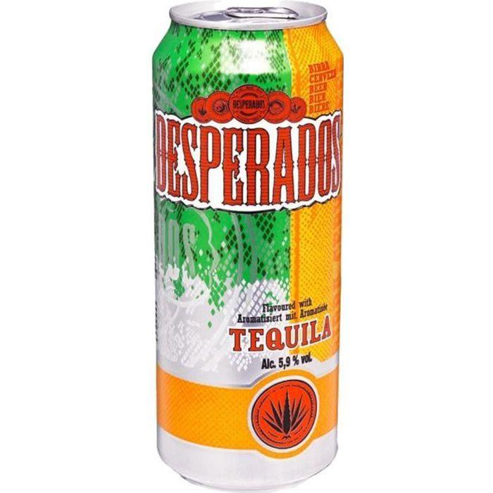 Desperados Tequila 50cl Pack De 12 Canettes Achat Vente Biere Desperados Tequila 50cl Pack Cdiscount