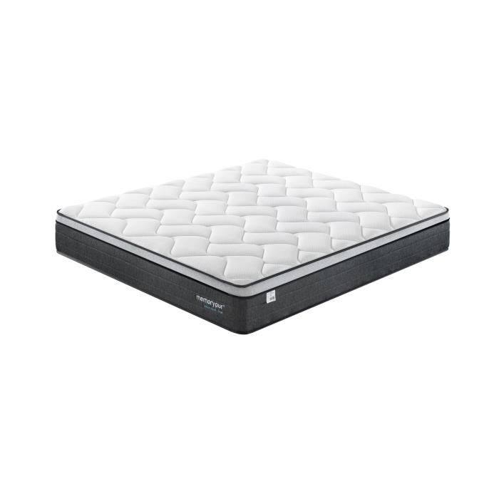 matelas perfection 160x200 32 cm m moire de forme latex naturel micro capsule de gel. Black Bedroom Furniture Sets. Home Design Ideas
