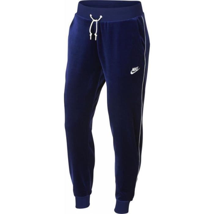 jogging nike femme bleu