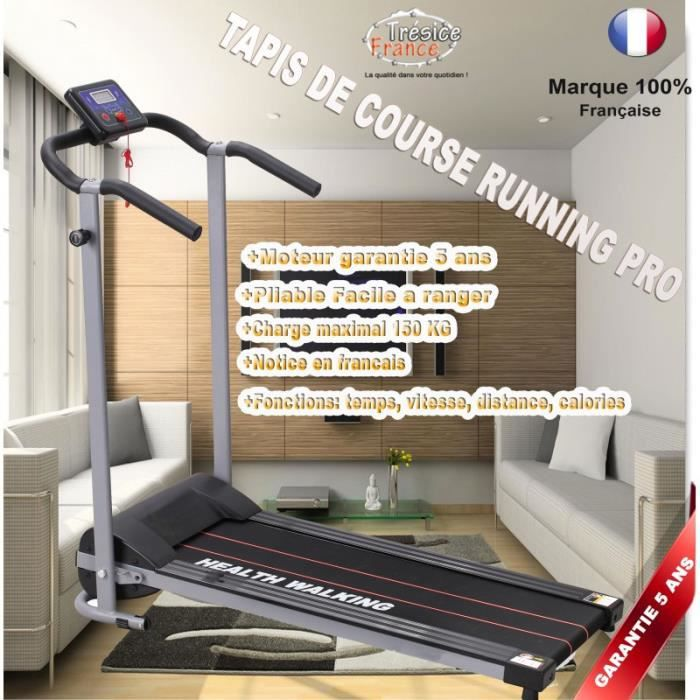 tapis roulant tapis de course pliable treadmill prix pas. Black Bedroom Furniture Sets. Home Design Ideas