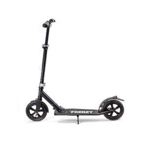 Frenzy 205 mm pneumatique Scooter Roue Avec Roulements-Noir