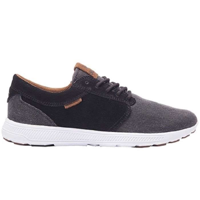 Basket Homme Supra Hammer Black - Brown White