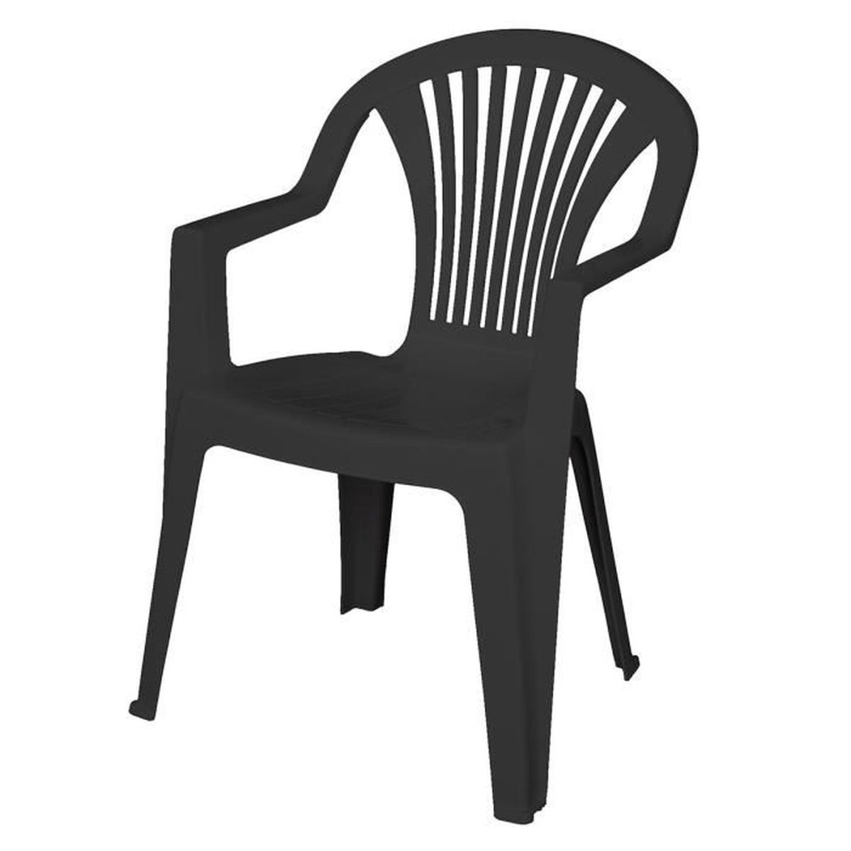 chaise de jardin pvc achat vente chaise de jardin pvc pas cher cdiscount. Black Bedroom Furniture Sets. Home Design Ideas