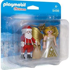 FIGURINE - PERSONNAGE Figurine Miniature QG8BE PLAYMOBIL 9498 Père Noël