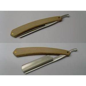 RASOIR MÉCANIQUE rasoir coupe choux bois naturel