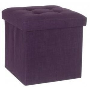 pouf violet achat vente pouf violet pas cher cdiscount. Black Bedroom Furniture Sets. Home Design Ideas