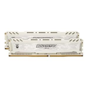 MÉMOIRE RAM BALLISTIX Mémoire 32GB Kit (16GBx2) DDR4 2666 MT/s