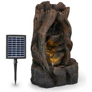 FONTAINE DE JARDIN Blumfeldt Magic Tree Fontaine solaire de jardin en