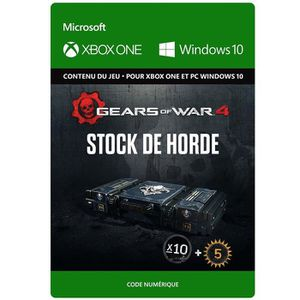 EXTENSION - CODE DLC Gears of War 4: Stock de Horde pour Xbox One e