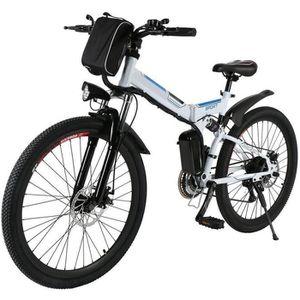 VÉLO ASSISTANCE ÉLEC Vélo électrique adulte Homme VTT 22-30 km/h 8AH/36