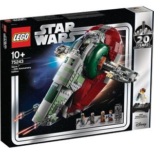 ASSEMBLAGE CONSTRUCTION LEGO® Star Wars™ 75243 Slave l™ – Édition 20ème an