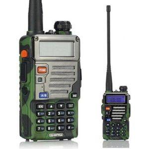 TALKIE-WALKIE BaoFeng UV-5R Plus Radio portable FM Camouflage