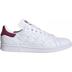 adidas stan smith blanche et bordeaux femme