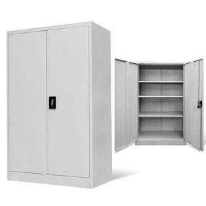 ARMOIRE DE BUREAU Armoire de bureau Classeur à tiroirs Meuble de ran