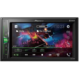 AUTORADIO PIONEER Auto Radio Vidéo 2 DIN  6,2