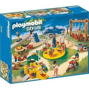 UNIVERS MINIATURE Playmobil - Grand jardin d'enfants 5024