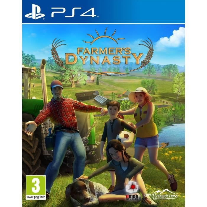 Farmer's Dynasty Jeu PS4