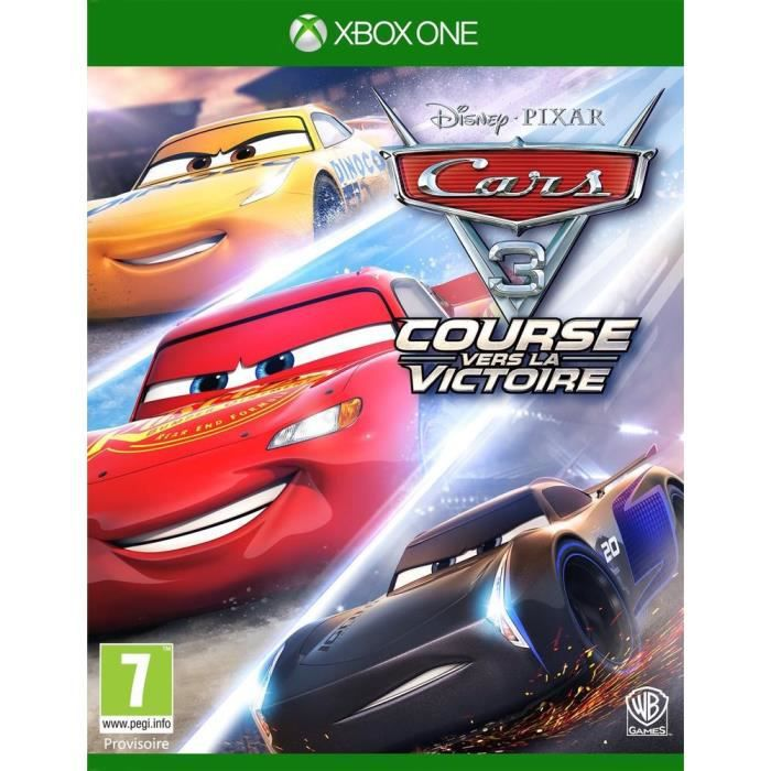 JEU XBOX ONE Cars 3 Jeu Xbox One