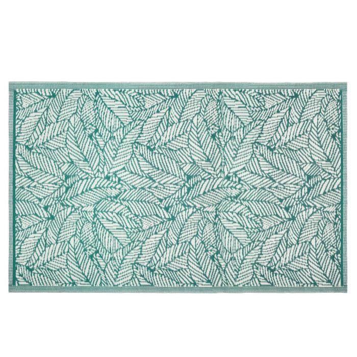 Tapis extérieur 120x180 cm Feuille vert 120 X 180 Vert