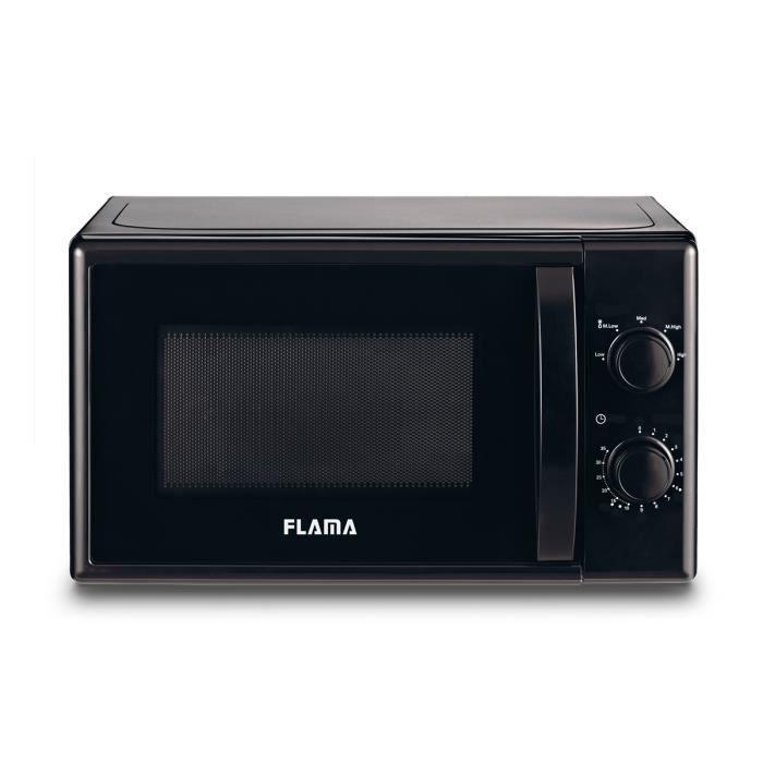 Flama 1834FL, Comptoir, 20 L, 700 W, Rotatif, Noir, Gauche