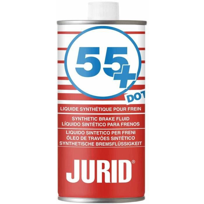 JURID Liquide de frein 55+ DOT 4 - 1L