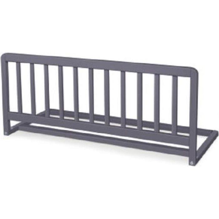 GEUTHER Barriere de lit Sweet Dream 90 cm rabattable en hêtre massif - coloris gris