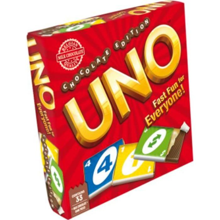 HASBRO _Jeux Edition en Chocolat _UNO 90 g