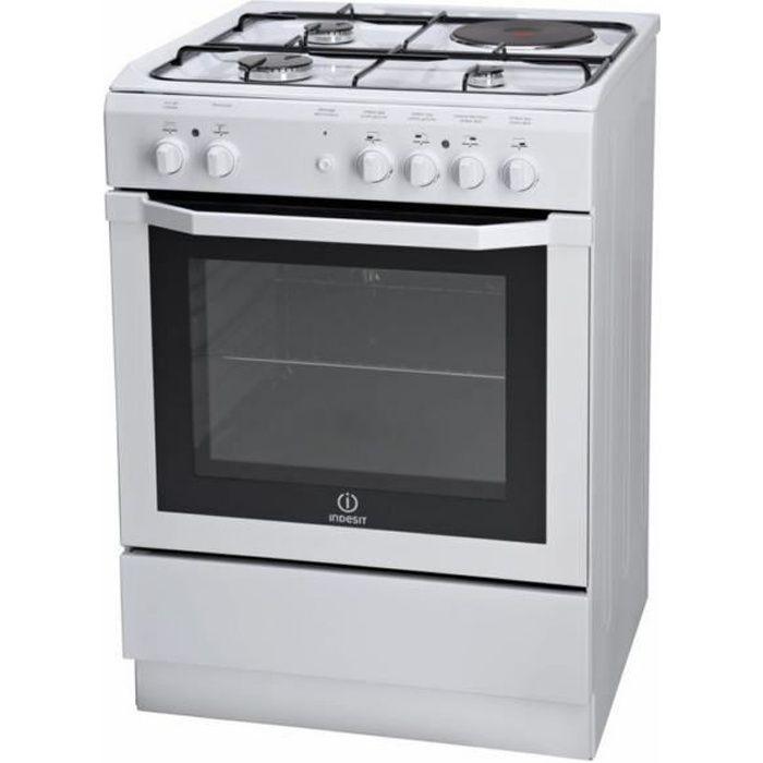 Cuisinière mixte - Largeur 60 cm - 3 Bruleurs G…