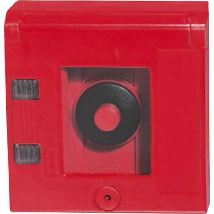 Bouton poussoir, Arrêt d'urgence Legrand LG.038024 en boîtier 230 V/AC 6 A 1 NO (T), 1 NC (R) IP44 1 pc(s)