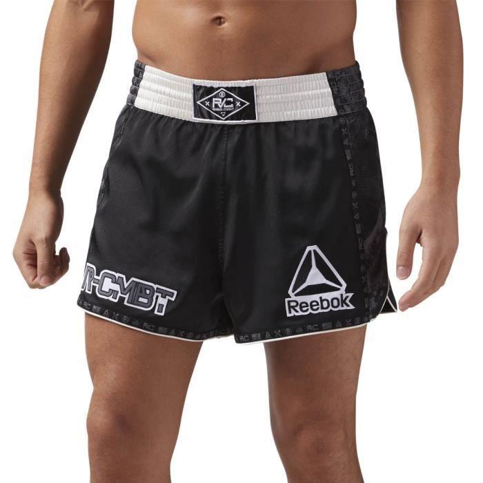 Reebok Hommes Combat Prime Thai Short De Sport Fitness