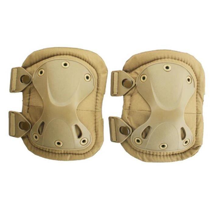 PROTEGE-CHEVILLES - CHEVILLERE,Formation en plein air genouillères tactiques équipement de protection - Type sand Kneepads