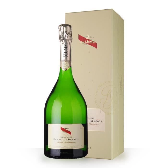 Mumm de Cramant Blanc de Blancs 75cl Brut - Coffret - Champagne