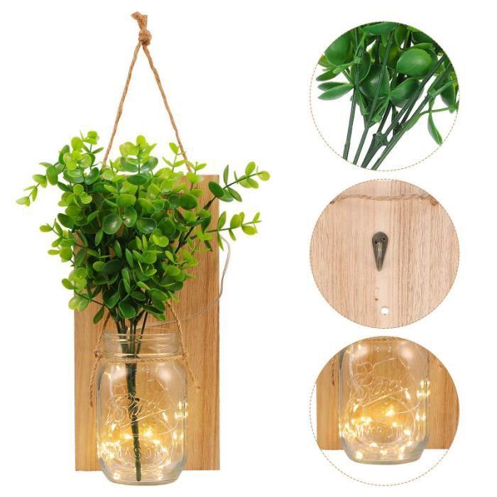 2 ensembles de voyants de suspension décoratifs utiles lumières cafe en grains cafe the infusion