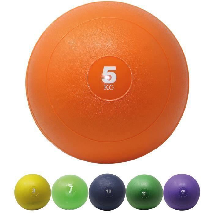Slamball I Medicine Ball 3 - 20 kg I Slam Ball différentes couleurs Poids: 5 kg