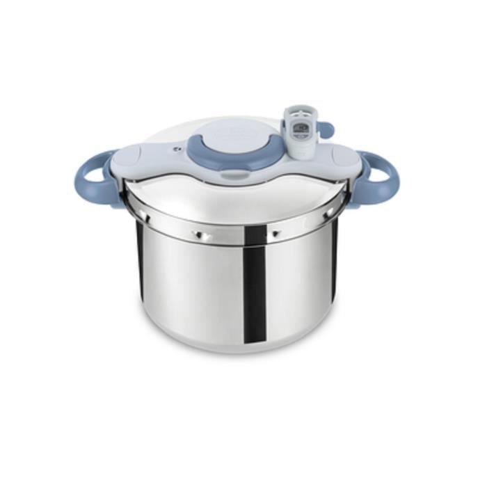 SEB - Autocuiseur inox 6l + minuteur - clipso minute perfect - P4620701