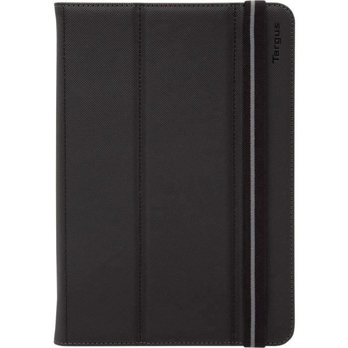 Etui universel Fit N Grip Targus rotatif 360° pour tablette de 7 à 8 pouces noir