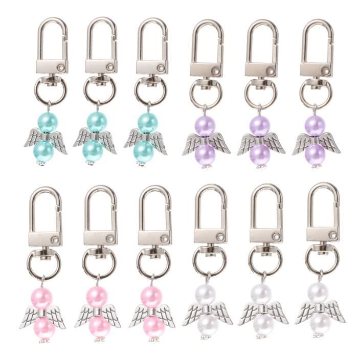 12pcs porte-clés pendentif pour cadeau PORTE-CLES - ETUI A CLE