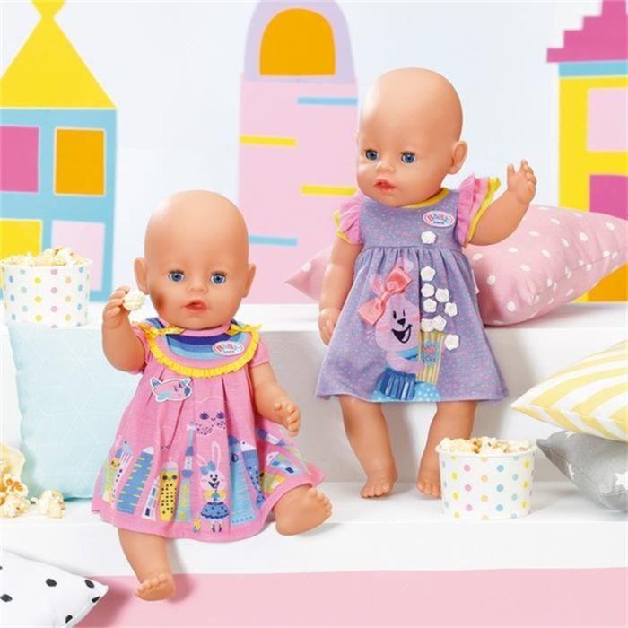 BABY Born Robes pour poupée de 43cm