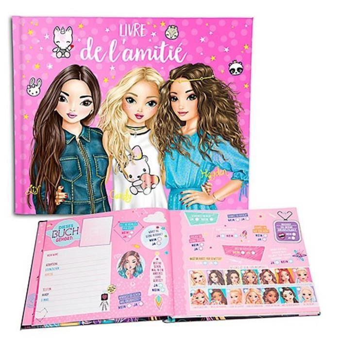 Livre De L Amitie Topmodel Liv Candy Et Hayden