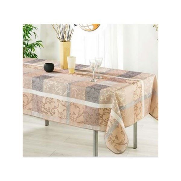 nappe florence 2m40 1m50 anti achat vente nappe de table cdiscount. Black Bedroom Furniture Sets. Home Design Ideas