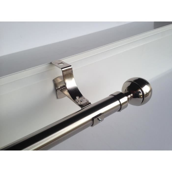 Tringle a rideau sans percer pour porte d entree for Porte extensible leroy merlin