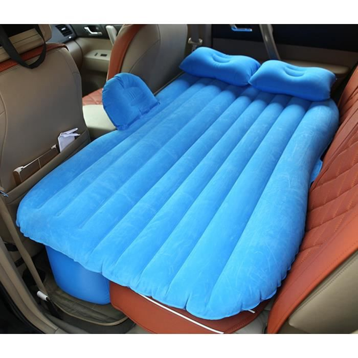 voiture voyage matelas gonflable air lit seat camping universal suv retour couch bleu prix pas. Black Bedroom Furniture Sets. Home Design Ideas