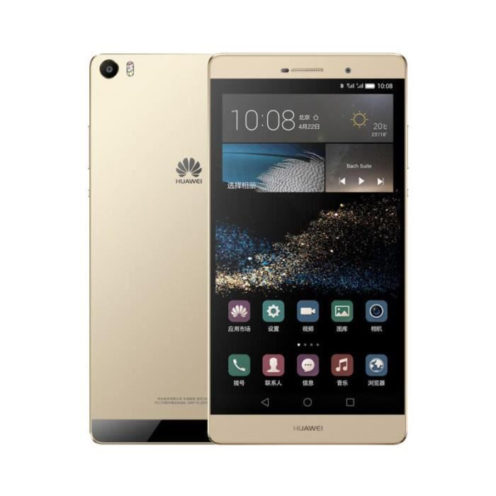 smartphone huawei p8 max 32go double sim 4g lte or achat smartphone pas cher avis et meilleur. Black Bedroom Furniture Sets. Home Design Ideas