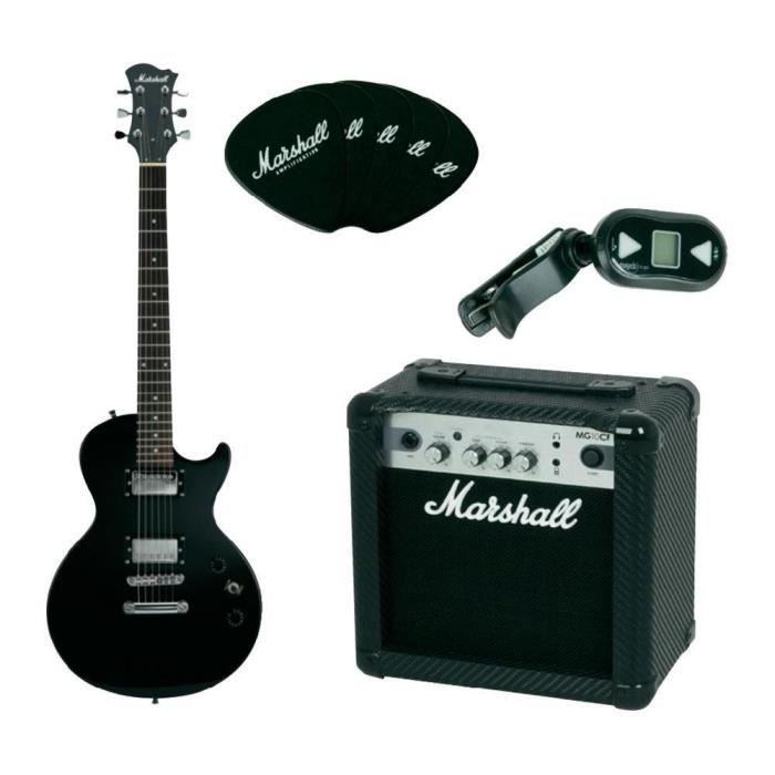 pack guitare electrique marshall mgap ampli 10w pas cher. Black Bedroom Furniture Sets. Home Design Ideas