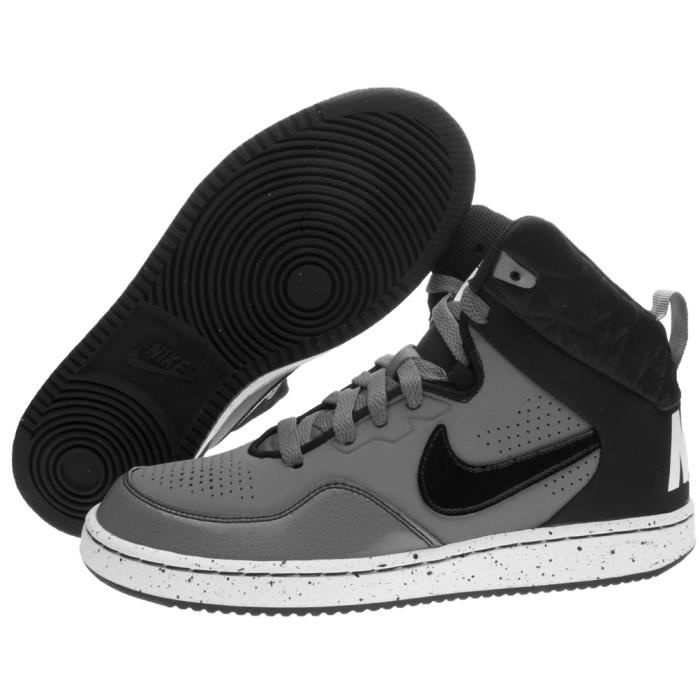 Nike Chaussures First Flight GS Chaussures de Sport pour Femme Gris Cuir 725132 Nike soldes